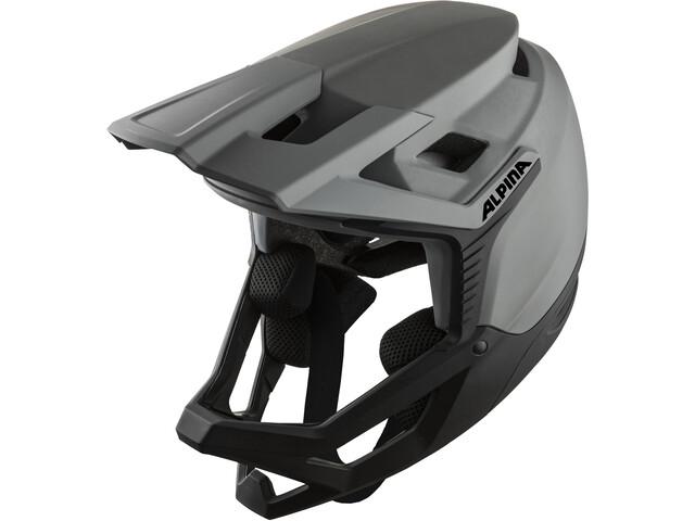 Alpina Roca Helmet, grijs/zwart